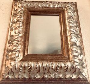 Beautiful elegant framed mirror H13.5xW21.5xD2 inch for Sale in Chandler, AZ
