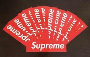Supreme Sticker Classic Red Lot Of 20 for Sale in Moreno Valley, CA