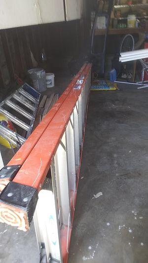 Werner 12 foot A-frame ladder for Sale in San Bernardino, CA