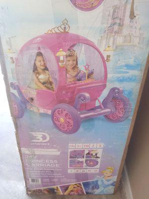 Disney Princess Riding Carriage 24V for Sale in Alexandria, LA
