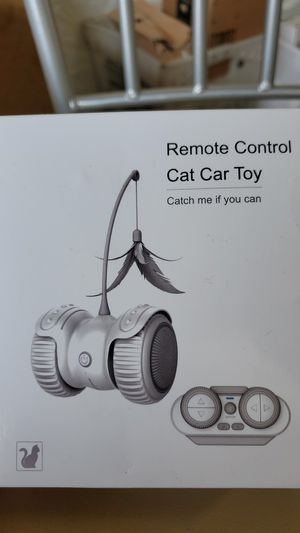 Cat Toys for Indoor Cats Newest Smart Robotic Interactive Cat Toy Auto/RC 2 Play Mode Kitten Approved With Bulit-in Active Program,Feather for Sale in Atlanta, GA