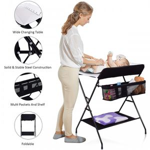 Baby Storage Folding Diaper Changing Table for Sale in Corona, CA