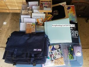 Scrapbooking Lot $30 For All for Sale in Dresden, OH