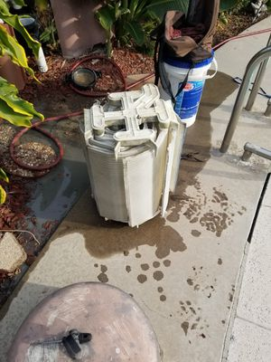 Pool filter clean for Sale in Los Angeles, CA