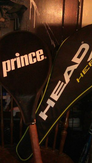 Prince, head heat. Tennis rackets for Sale in HILLTOP MALL, CA