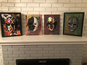 Paintings of African Mask for Sale in Washington, DC