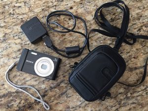 Brand New!! Sony DSCW800/B 20.1MP Digital Camera with HD card and case for Sale in Virginia Beach, VA
