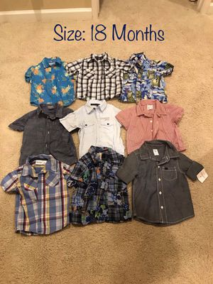 18 Month Baby Boy Shirts for Sale in Chula Vista, CA