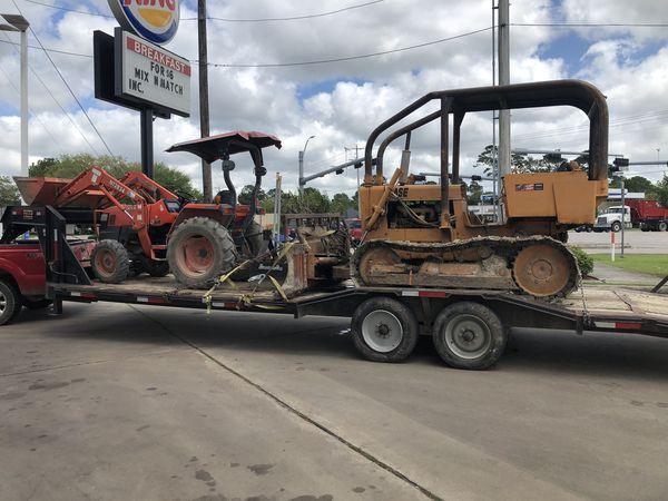 Tractor and Dozer work
