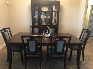 Ashley Furniture Contemporary 8 piece Dining Room Suite for Sale in YPG, AZ