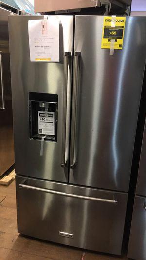 Kitchen Aid Counter Depth Bottom Freezer Fridge for Sale in Torrance, CA