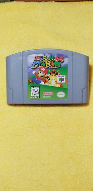 Nintendo 64 Super Mario 64!!!! 1 Used Game!!!! for Sale in Chula Vista, CA
