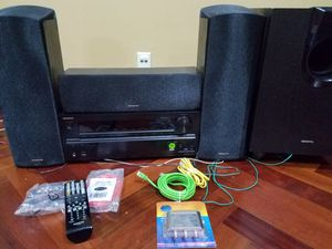 ONKYO home theater speakers for Sale in Chicago, IL