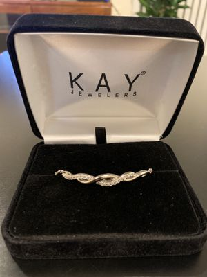 Kay Adjustable Silver Bracelet for Sale in Boston, MA