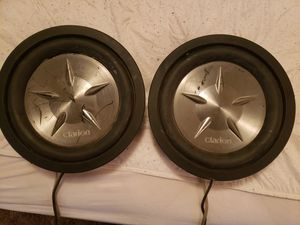 Matching clarion 10 inch subs PFW1051 for Sale in Sugar Creek, MO