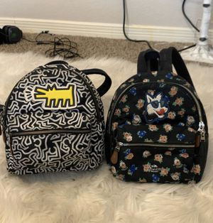 Two coach backpacks for Sale in El Paso, TX