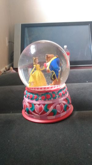 Disney Beauty And The Beast Music Snow Globe for Sale in Columbus, OH