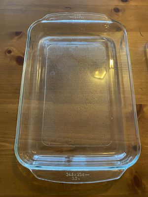 Pyrex Glass baking pan each $8 set $15 for Sale in Leonia, NJ