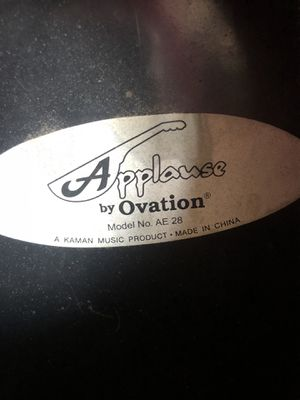 Ovation acoustic guitar for Sale in Rockville, MD
