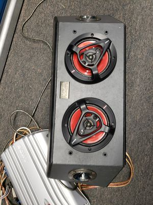 Sony XPLOD Amp and Speskers/Subwoofer for Sale in Washington, DC