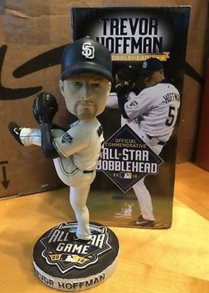 Trevor Hoffman San Diego Padres MLB All-Star Baseball Bobblehead SGA 7/10/2016 for Sale in Lake Elsinore, CA