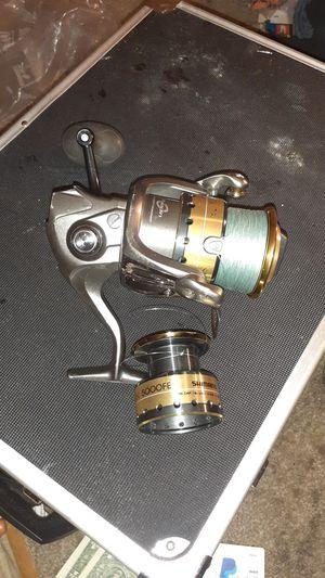 SHIMANO SUSTAIN 8000FE FISHING REEL W/ SUSTAIN 5000FE EXTRA REEL for Sale in Glendale, AZ