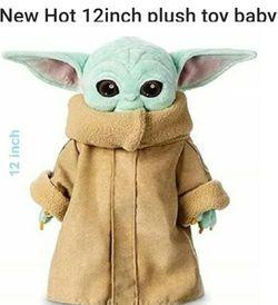 12 Inch Plush Yoda Doll New for Sale in Woodburn,  OR