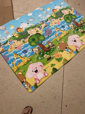Reversible baby play mat for Sale in Tampa, FL