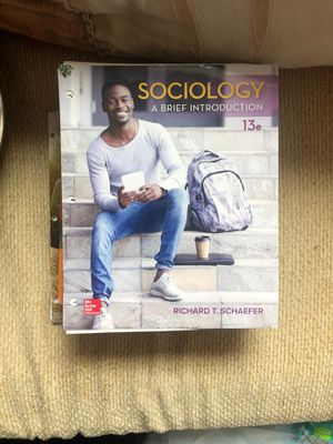 Sociology: A Brief Introduction 13 Edition for Sale in Smyrna, TN