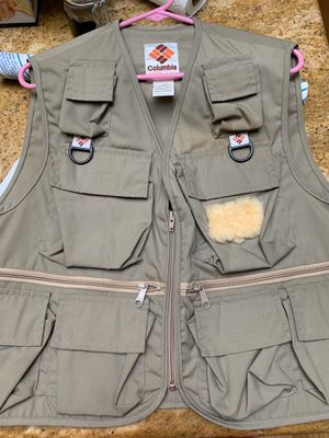 Columbia Fishing Vest - for Sale in Campbell, CA