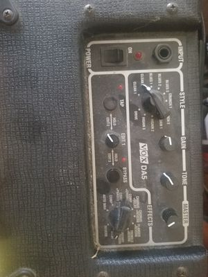 Amp Vox da5. Barely used. for Sale in Vestal, NY