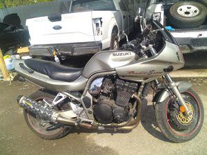 2000 SUZUKI MOTORCYCLE. $1600 for Sale in Pasadena, TX