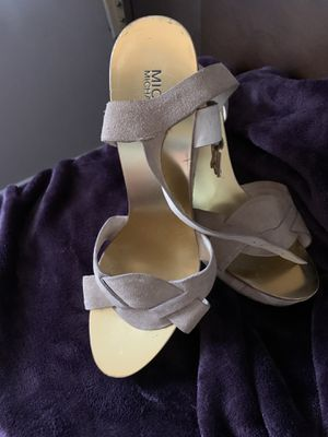 Michael Kors wedge suede sandals for Sale in Fort Washington, MD