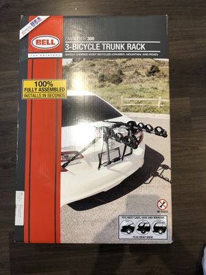 Bell Cantilever 300 3-Bicycle (Bike) Trunk Rack New in Box for Sale in Chicago, IL