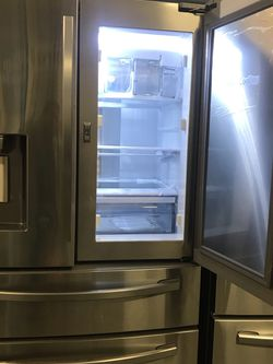 SAMSUNG FRENCH DOOR STAINLESS STEEL REFRIGERATOR DOOR IN DOOR BRAND NEW OPEN BOX for Sale in March Air Reserve Base,  CA