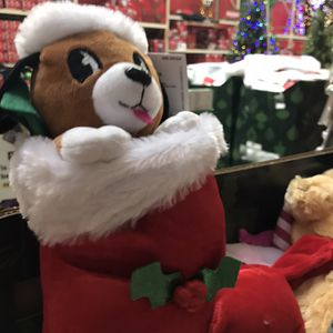 "12"" Christmas Plush Animated Teddy Bear for Sale in Houston, TX"