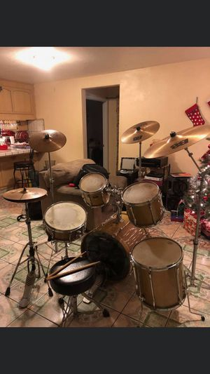 Complete drum set for Sale in Fresno, CA
