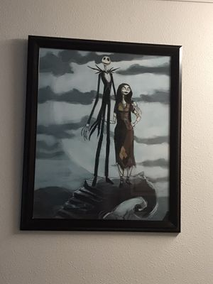 Wall art nightmare before Christmas for Sale in Houston, TX