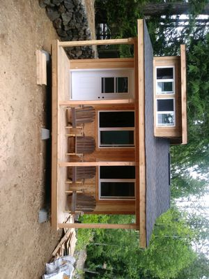Over 35 years experience message for a free quote can custom build any size or style of shed for Sale in Federal Way, WA