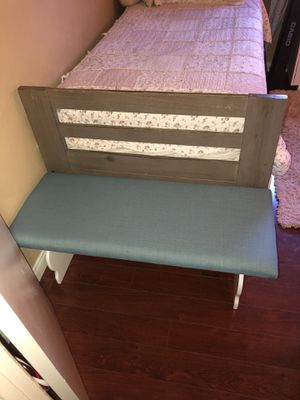 New Blue Bench/Sitting for Sale in Los Angeles, CA