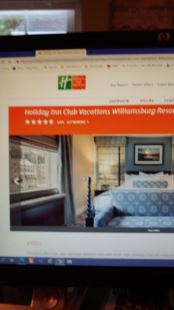 Staycation Williamsburg VA