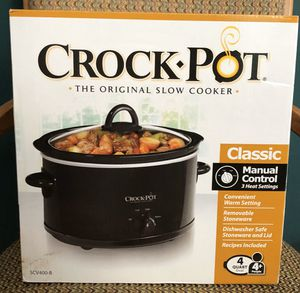 Brand New Crockpot Slow Cooker 4 Qt for Sale in Columbia, PA