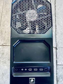 COOLER MASTER GAMING COMPUTER TOWER CASE ANTEC - SUITABLE TO ALL MAINBOARDS - WITH 4 BIG LED FANS INSIDE - IN GOOD CONDITION - CLEAN for Sale in Garden Grove,  CA
