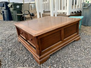 Coffee Table with Storage for Sale in Bend, OR