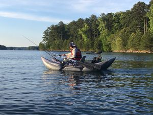 Inflatable pontoon boat for Sale in Buford, GA