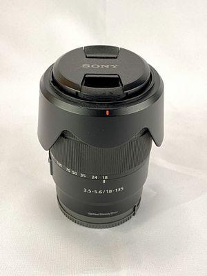 Sony SEL E 18-135mm F/3.5-5.6 OSS Lens for Sony E Mount for Sale in Diamond Bar, CA