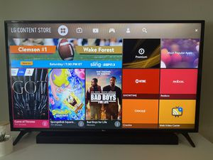 LG HDTV 1080p SMART 55 inch for Sale in Baltimore, MD