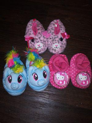 Toddler girl slippers for Sale in Arlington, TX