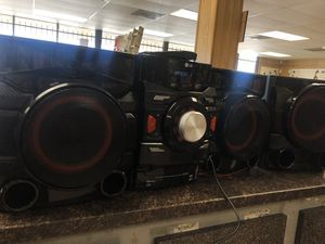 LG home audio system for Sale in Austin, TX