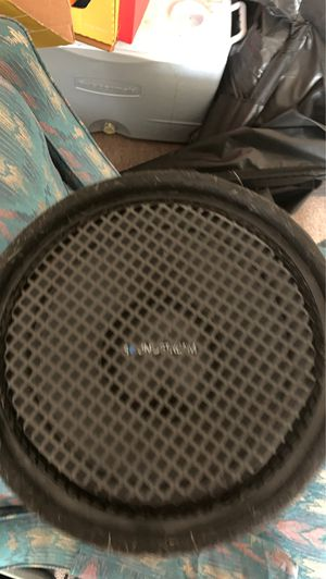 "12"" sound stream sub with sound stream tube. for Sale in Rolla, MO"